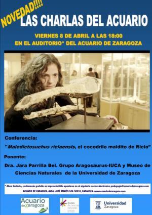 LAS CHARLAS DEL ACUARIO: EL COCODRILO MALDITO DE RICLA