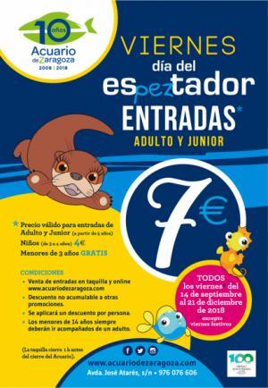 Vuelve el Día del esPEZtador al Acuario de Zaragoza