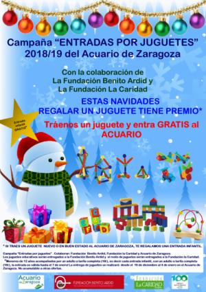 Campaña Solidaria Entradas por Juguetes Navidades 2018