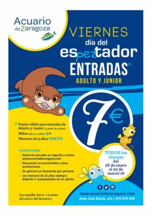 Día del esPEZtador en el Acuario de Zaragoza