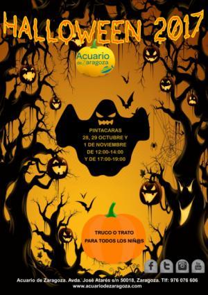 Ya ha llegado Halloween al Acuario de Zaragoza