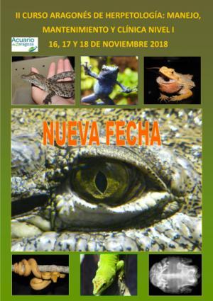 Nueva Fecha para el Curso Herpetología: Manejo, Mantenimiento y Clínica Nivel I