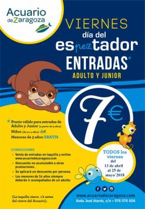 Vuelve el Día del esPEZtador en el Acuario de Zaragoza