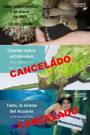 CANCELACIÓN TALLERES EDUCACIÓN AMBIENTAL DE MARZO